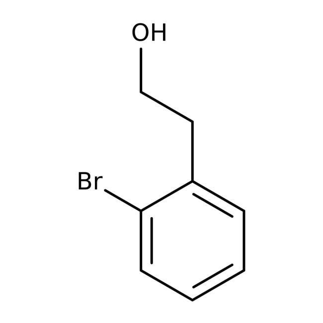 Alcool 2-bromophénéthylique, 99%, ACROS Organics™ 5g; flacon en verre Alcool 2-bromophénéthylique, 99%, ACROS Organics™