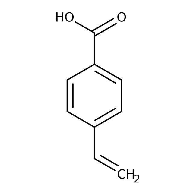 4-Vinylbenzoic acid, 96%, ACROS Organics™