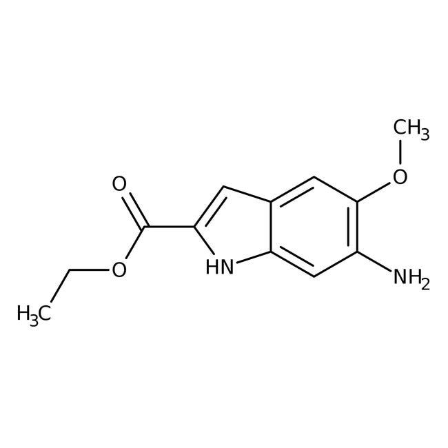 Alfa Aesar  Ethyl 6-amino-5-methoxyindole-2-carboxylate, 95%