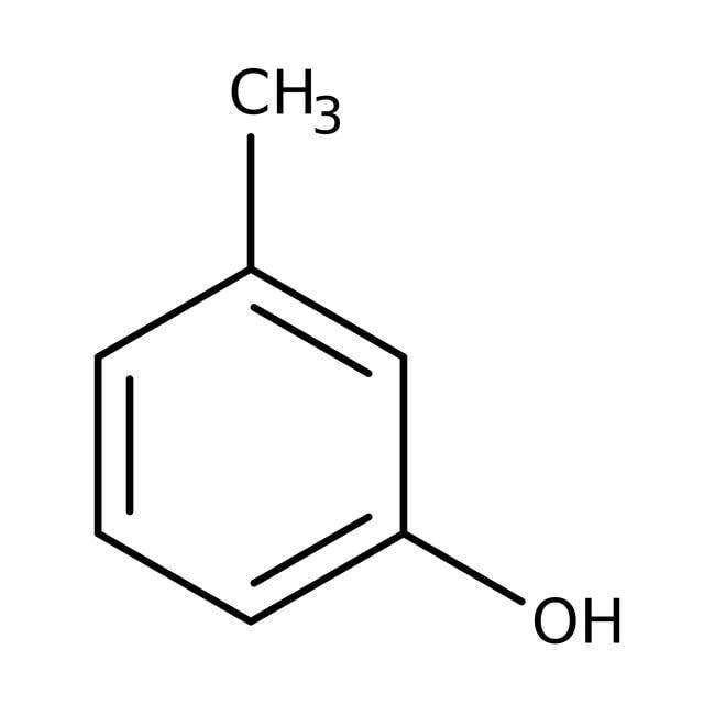 m-Cresol, 99%, ACROS Organics™ 500g m-Cresol, 99%, ACROS Organics™