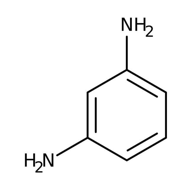 Alfa Aesar™m-Phenylenediamine, 98% 1000g Alfa Aesar™m-Phenylenediamine, 98%