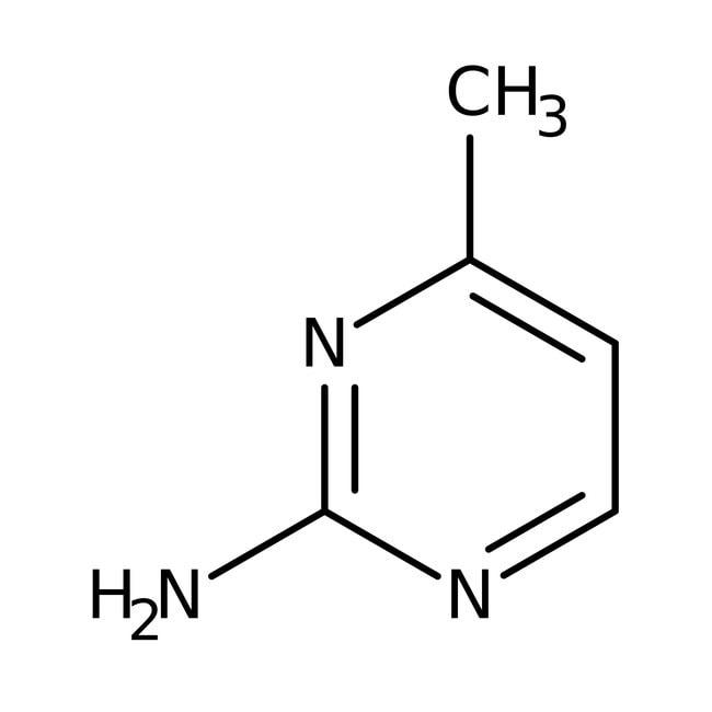 2-Amino-4-methylpyrimidine, 97%, ACROS Organics™