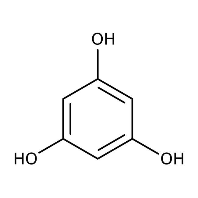 Phloroglucinol, 99+%, anhydrous, ACROS Organics™ 25g; Glass bottle Phloroglucinol, 99+%, anhydrous, ACROS Organics™