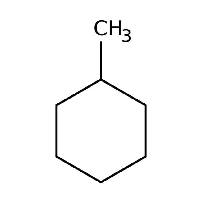 Methylcyclohexane, 99%, extra pure, ACROS Organics™ 2.5L; Glass bottle Methylcyclohexane, 99%, extra pure, ACROS Organics™