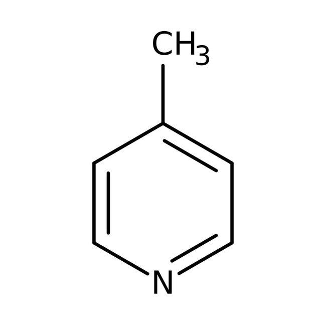 4-Picoline, 99%, ACROS Organics™ 1L; Glass bottle 4-Picoline, 99%, ACROS Organics™