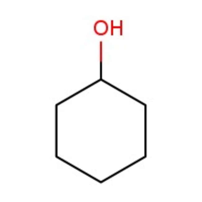Cyclohexanol, 98%, ACROS Organics™ 10L; Plastic jerry can prodotti trovati