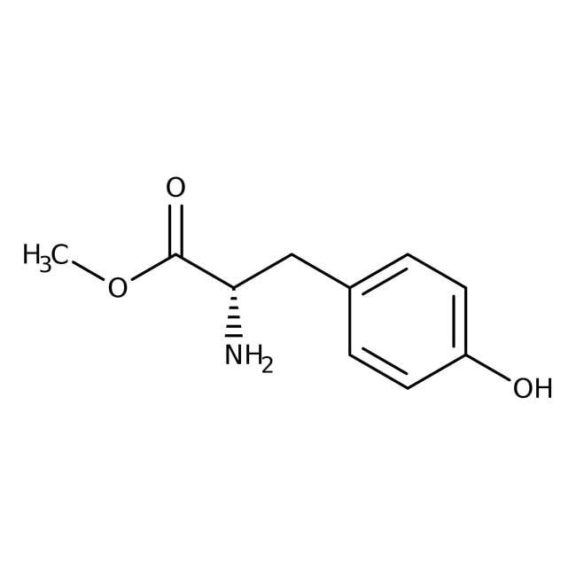 L-Tyrosine methyl ester, 98%, ACROS Organics™ 5g L-Tyrosine methyl ester, 98%, ACROS Organics™