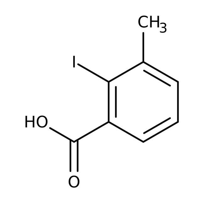Alfa Aesar™Acide 2-iodo-3-méthylbenzoïque, 98 % 5g Alfa Aesar™Acide 2-iodo-3-méthylbenzoïque, 98 %