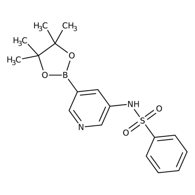 Alfa Aesar™3-Phenylsulfonamidopyridine-5-boronic acid pinacol ester, 96%