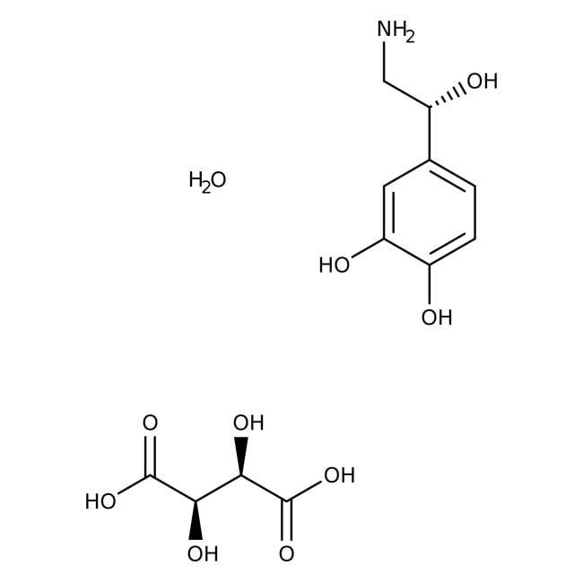 L-Noradrenaline Bitartrate Monohydrate 98.0+%, TCI America™