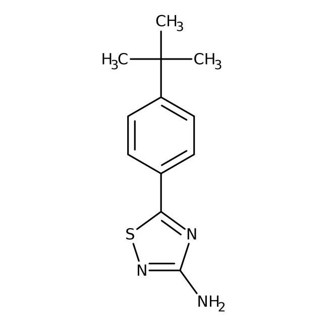 Alfa Aesar™3-Amino-5-(4-tert-butylphenyl)-1,2,4-thiadiazole, 96% 250mg Alfa Aesar™3-Amino-5-(4-tert-butylphenyl)-1,2,4-thiadiazole, 96%