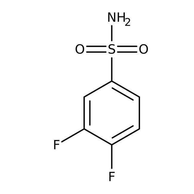 Alfa Aesar™3,4-Difluorbensulfonamid, 97% 250mg Alfa Aesar™3,4-Difluorbensulfonamid, 97%