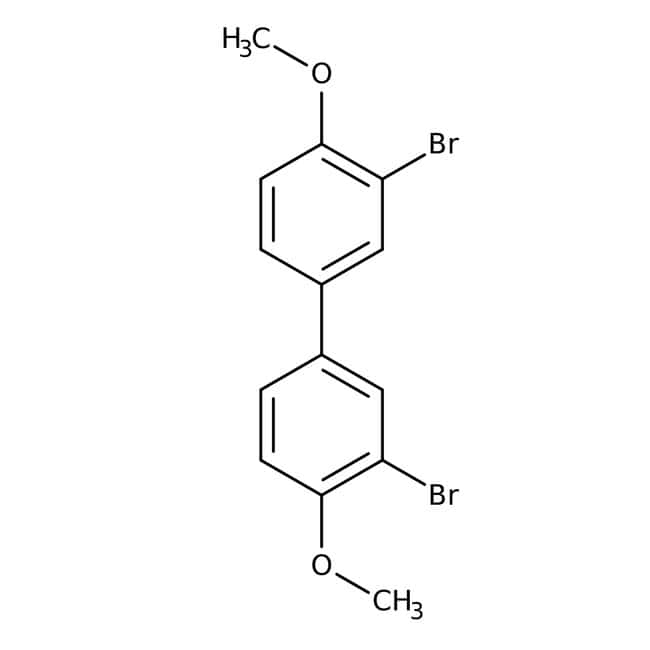3,3 -Dibromo-4,4 -dimethoxybiphenyl 95.0 %, TCI America
