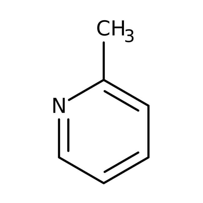 2-Picoline, 98%, ACROS Organics™ 1L; Glass bottle 2-Picoline, 98%, ACROS Organics™