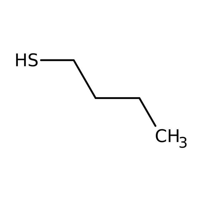 1-Butanethiol, 98%, AcroSeal™, Acros Organics 100mL; AcroSeal glass bottle packed in tin can 1-Butanethiol, 98%, AcroSeal™, Acros Organics