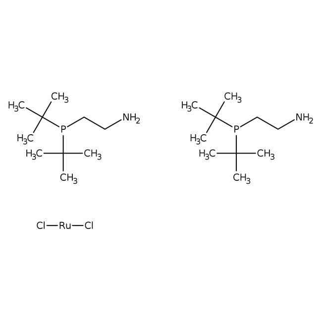 Dichlorobis(2-(di-tert-butylphosphino)ethylamine)ruthenium(II), 97%, ACROS Organics
