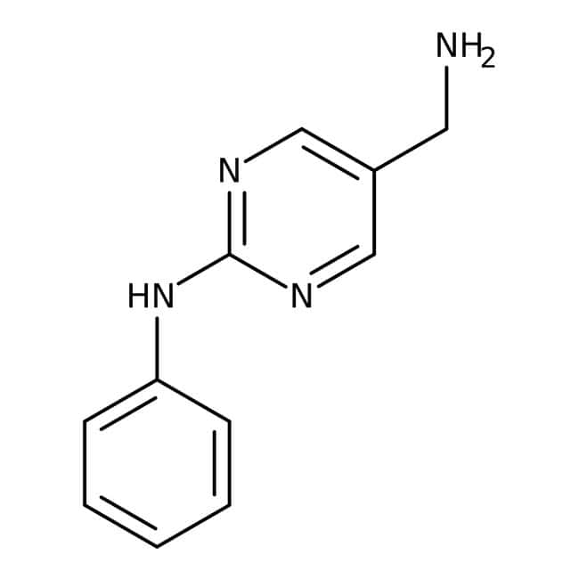 (2-anilinopyrimidin-5-yl)methylamine, 95%, Maybridge™
