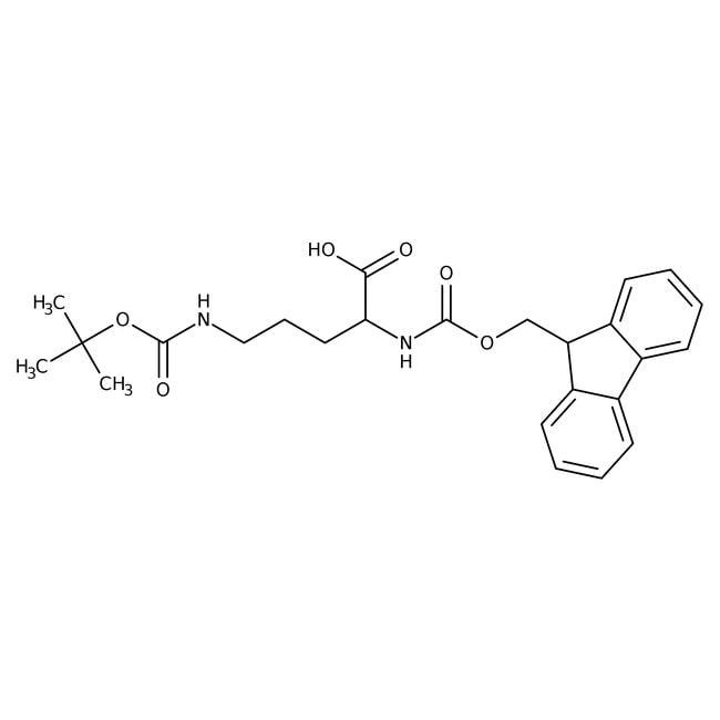 Alfa Aesar™Ndelta-Boc-Nalpha-Fmoc-L-ornithine, 96% 1g Alfa Aesar™Ndelta-Boc-Nalpha-Fmoc-L-ornithine, 96%