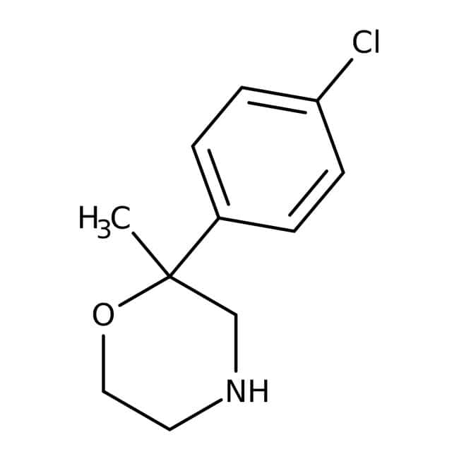 Alfa Aesar™2-(4-Chlorophenyl)-2-methylmorpholine, 99%: Chemicals Products