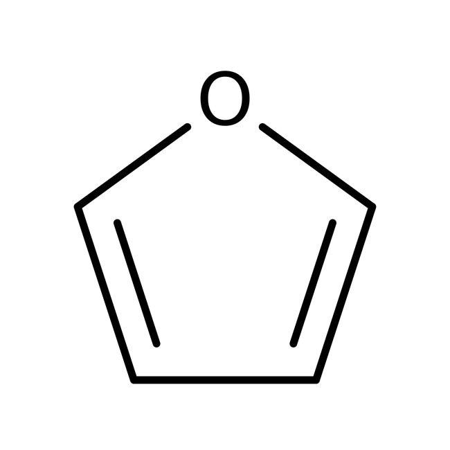 Furan, 99+%, stabilized, ACROS Organics™ 2.5L; Glass bottle Furan, 99+%, stabilized, ACROS Organics™