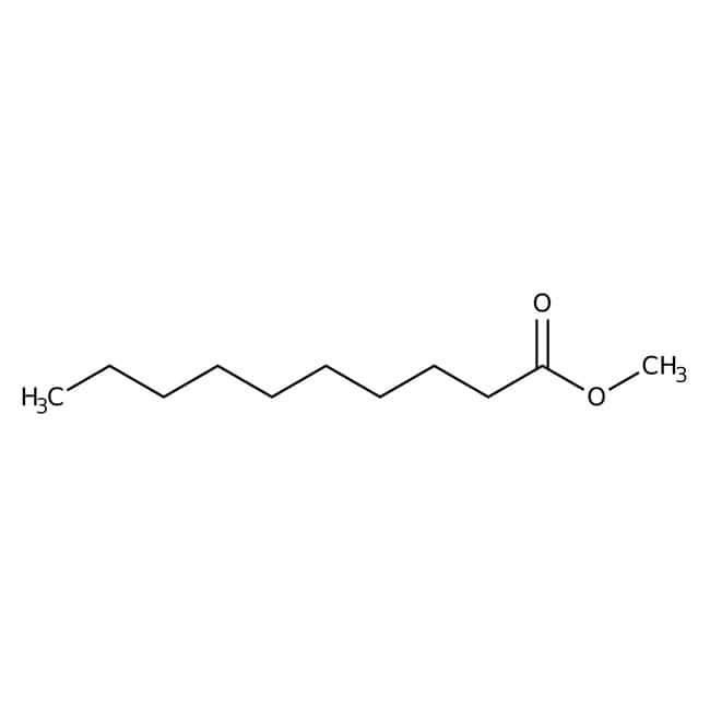 Methyl caprate, 98+%, Acros Organics 25g; Glass bottle Methyl caprate, 98+%, Acros Organics