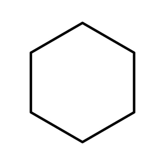 Cyclohexane, 99.5%, for analysis, ACROS Organics™ 500mL; Glass bottle Cyclohexane, 99.5%, for analysis, ACROS Organics™