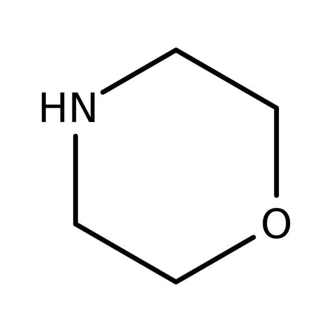 Morpholine, 99.5%, purified by redistillation, AcroSeal , Acros Organics