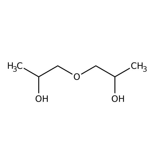 Dipropylene glycol, mixture of isomers, 99%, Alfa Aesar™ 500g Dipropylene glycol, mixture of isomers, 99%, Alfa Aesar™