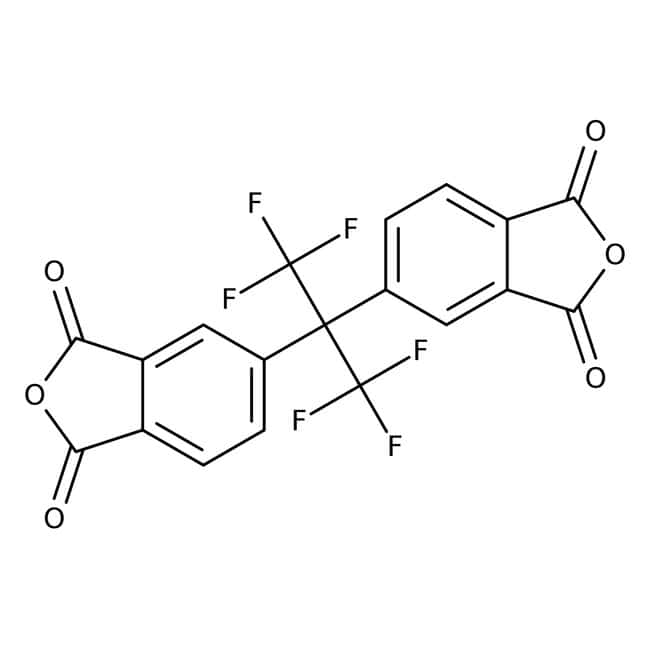 4,4′-(Hexafluoroisopropylidene)diphthalic Anhydride (purified by sublimation) 99.0+%, TCI America™