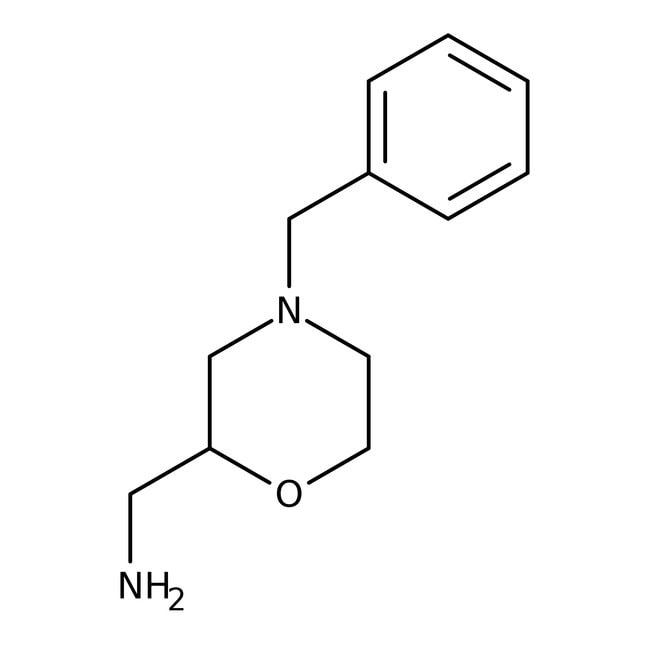 (4-Benzyl-1,4-oxazinan-2-yl)methylamine, 97%, Maybridge™