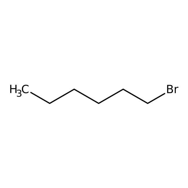 1-Bromohexane, 99+%, ACROS Organics™ 10L; Plastic jerry can 1-Bromohexane, 99+%, ACROS Organics™