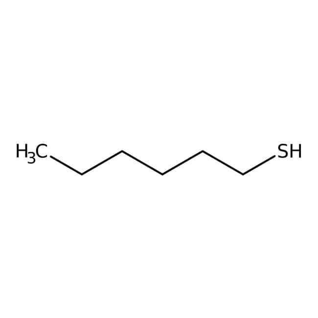 1-Hexanethiol, 96%, ACROS Organics™ 5mL; Glass bottle 1-Hexanethiol, 96%, ACROS Organics™
