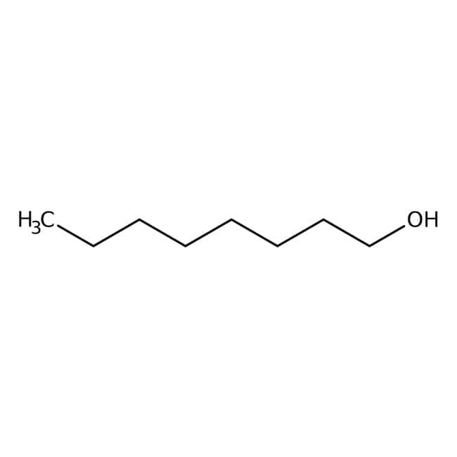 1-Octanol, 99%, pure, Acros Organics 2.5L; Glass bottle 1-Octanol, 99%, pure, Acros Organics