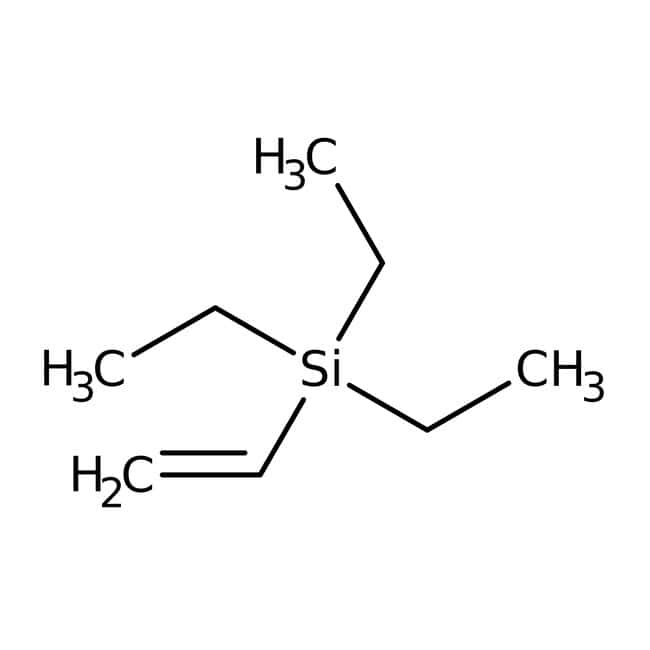 Alfa Aesar™Vinyltriéthylsilane, 97% 1g Alfa Aesar™Vinyltriéthylsilane, 97%