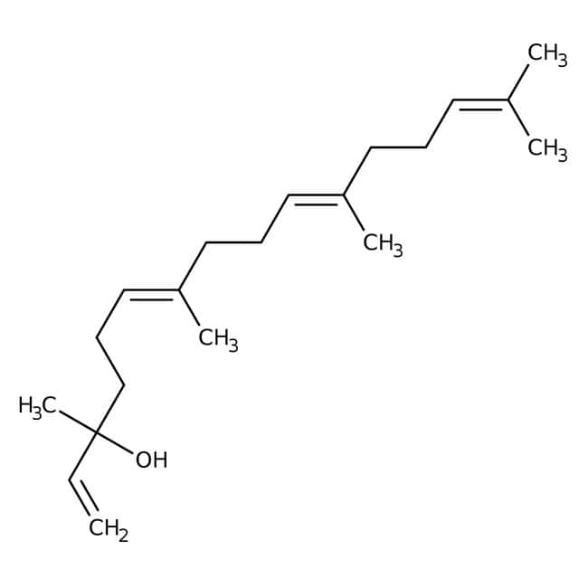 Geranyl linalool, ca. 95%, Tech., mixture of isomers, ACROS Organics™