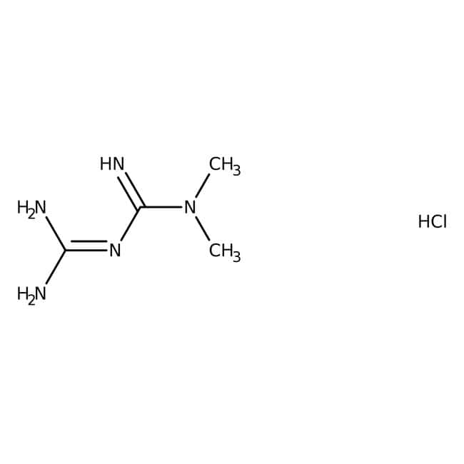 MetFormin hydrochloride, 98%, For HPLC analysis, MP Biomedicals™