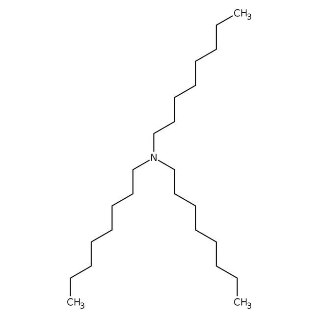 Tri-n-octylamine, 97%, ACROS Organics