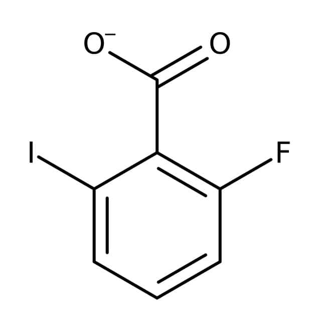 Alfa Aesar™2-Fluoro-6-iodobenzoic acid, 97% 1g Alfa Aesar™2-Fluoro-6-iodobenzoic acid, 97%
