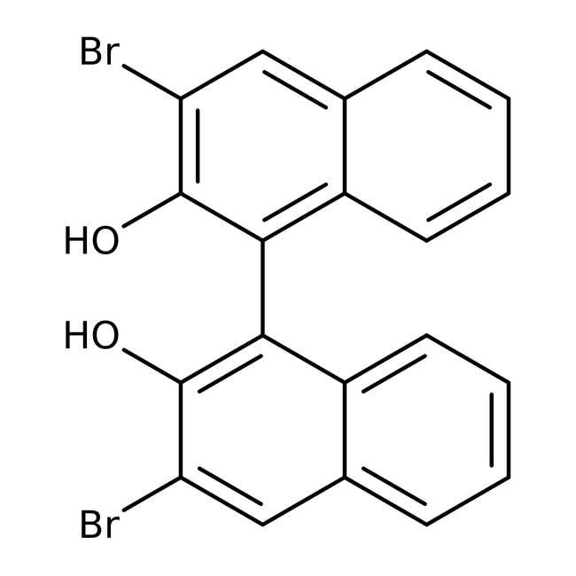 (R)-(+)-3,3'-Dibromo-1,1'-bi-2-naphthol, 98%, ACROS Organics