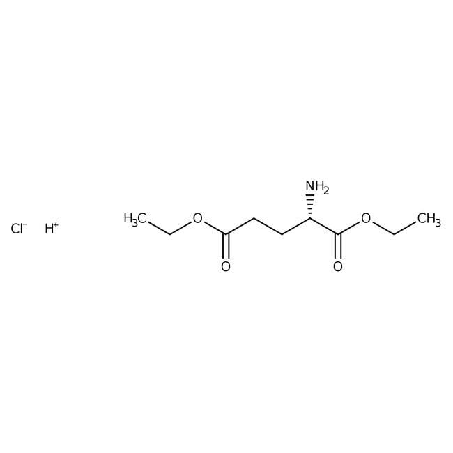 L-Glutamic acid diethyl ester hydrochloride, 98%, ACROS Organics™ 25g L-Glutamic acid diethyl ester hydrochloride, 98%, ACROS Organics™