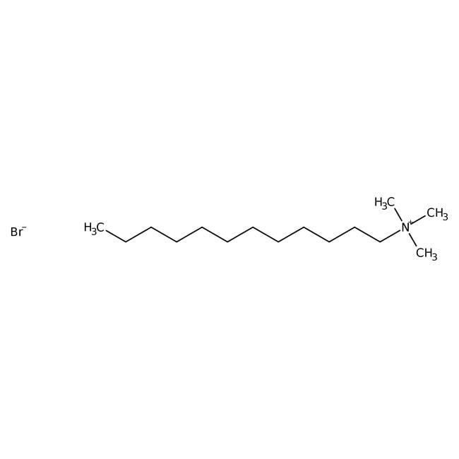 Dodecyltrimethylammonium bromide, 99%, pure, ACROS Organics™ 500g; Glass bottle Dodecyltrimethylammonium bromide, 99%, pure, ACROS Organics™