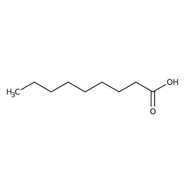 n-Nonanoic acid, 97%, ACROS Organics™: Organic Building Blocks Chemicals