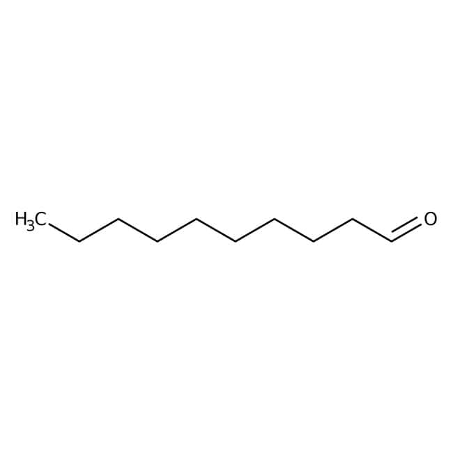 Decyl aldehyde, 95%, Acros Organics 100mL; Glass bottle Decyl aldehyde, 95%, Acros Organics