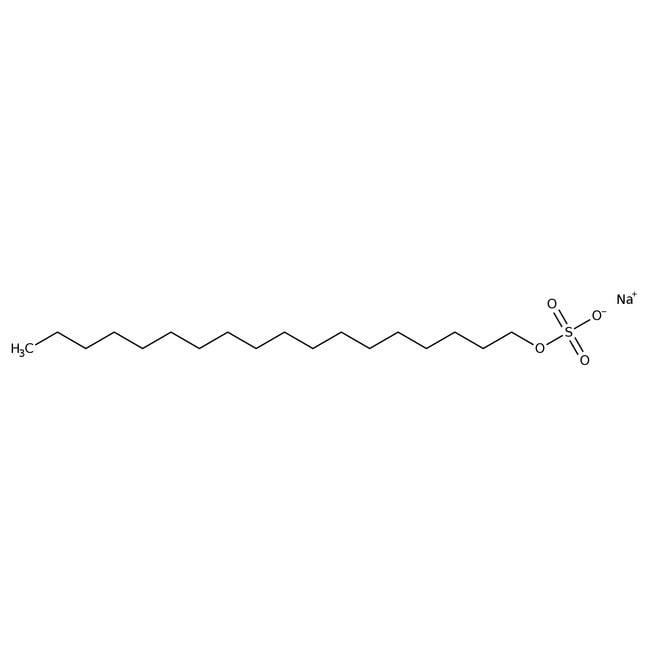 n-Octadecylsulfat, Natriumsalz, 98%, Acros Organics™ Glasflasche; 5g n-Octadecylsulfat, Natriumsalz, 98%, Acros Organics™