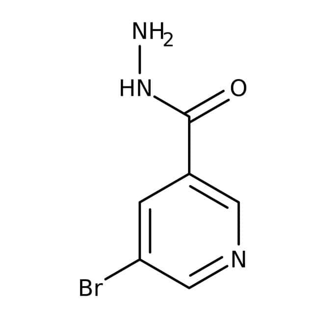 5-Bromopyridine-3-carbohydrazide, 97%, Maybridge™ Amber Glass Bottle; 10g 5-Bromopyridine-3-carbohydrazide, 97%, Maybridge™