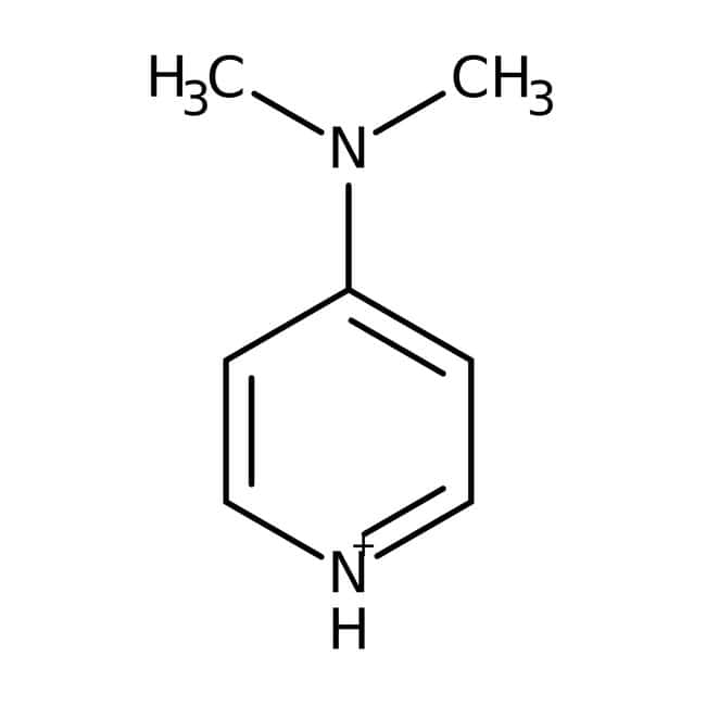 4-Dimethylaminopyridine, 99%, ACROS Organics™ 2.5kg; Glass bottle 4-Dimethylaminopyridine, 99%, ACROS Organics™