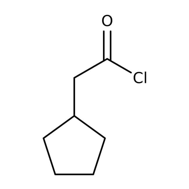Alfa Aesar™Chlorure de cyclopentylacétyle, 97% 5g Alfa Aesar™Chlorure de cyclopentylacétyle, 97%