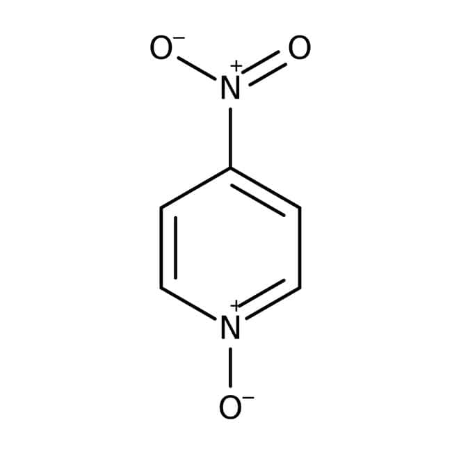 N-oxyde de 4-nitropyridine, 97%, Acros Organics 5g; flacon en verre N-oxyde de 4-nitropyridine, 97%, Acros Organics