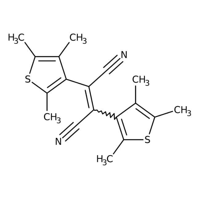 cis-1,2-Dicyano-1,2-bis(2,4,5-trimethyl-3-thienyl)ethene 98.0+%, TCI America™
