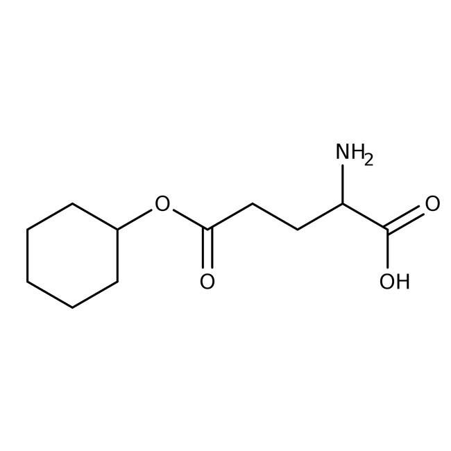 Alfa Aesar™L-Glutamic acid 5-cyclohexyl ester, 95% 25g Alfa Aesar™L-Glutamic acid 5-cyclohexyl ester, 95%
